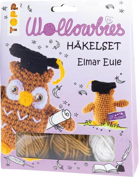 Fabelhafte Wollowbies Häkelset Elmar Eule