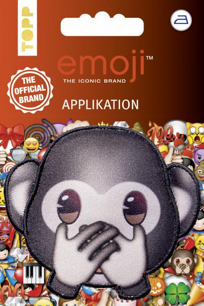 Emoji Applikation Affe - nicht sprechen