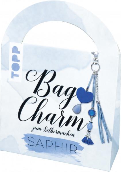Bag Charm Set Saphir