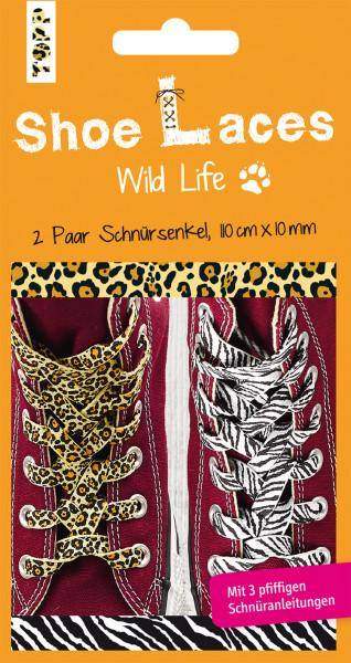 Shoe Laces Set Wild Life