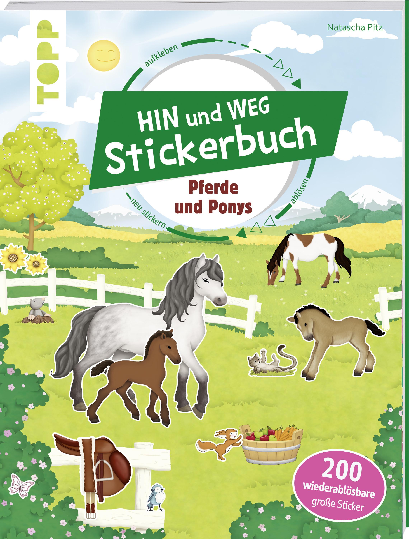 Das Hin Und Weg Stickerbuch Pferde Und Ponys Buch Für Kinder Ab