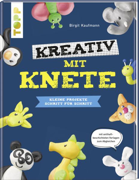 Kreativ mit Knete. Tiere modellieren Schritt für Schritt
