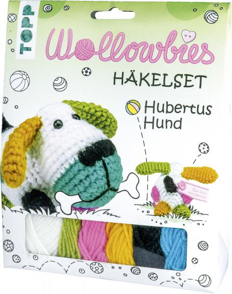 Wollowbies Häkelset Hubertus Hund