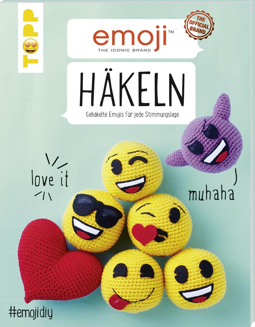 Emoji Accessoires Häkeln Smiley Häkeln Anleitung Buch Von Topp