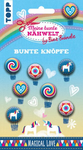 Bine Brändle Bunte Knöpfe Magical Love