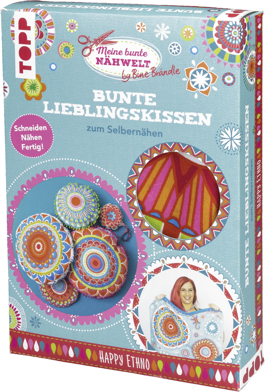 Bine Brändle Bunte Lieblingskissen Zum Selbernähen Happy Ethno