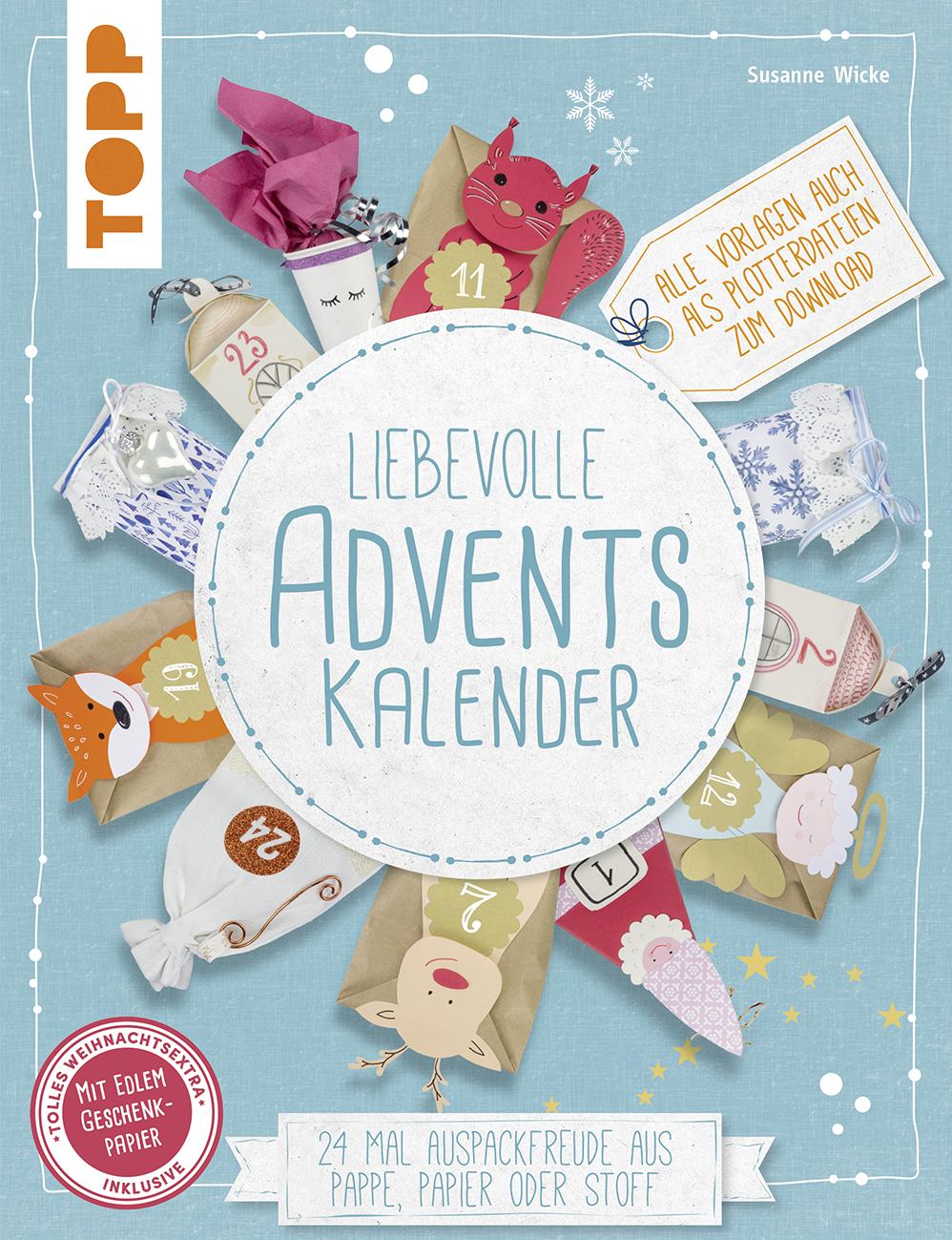 Liebevolle Adventskalender Buch Von Susanne Wicke Topp