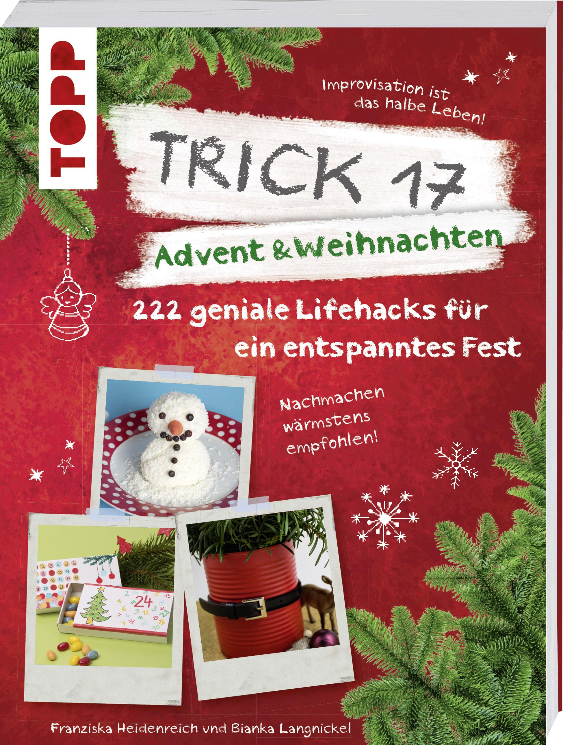 Trick 17 - Advent & Weihnachten | Weihnachtstipps & Bastelbuch von TOPP