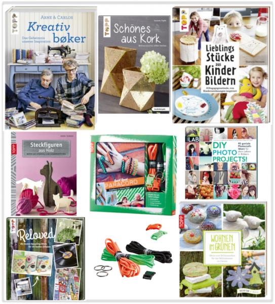 """SALE-Set """"Bücher für große und kleine DIY-Künstler"""""""
