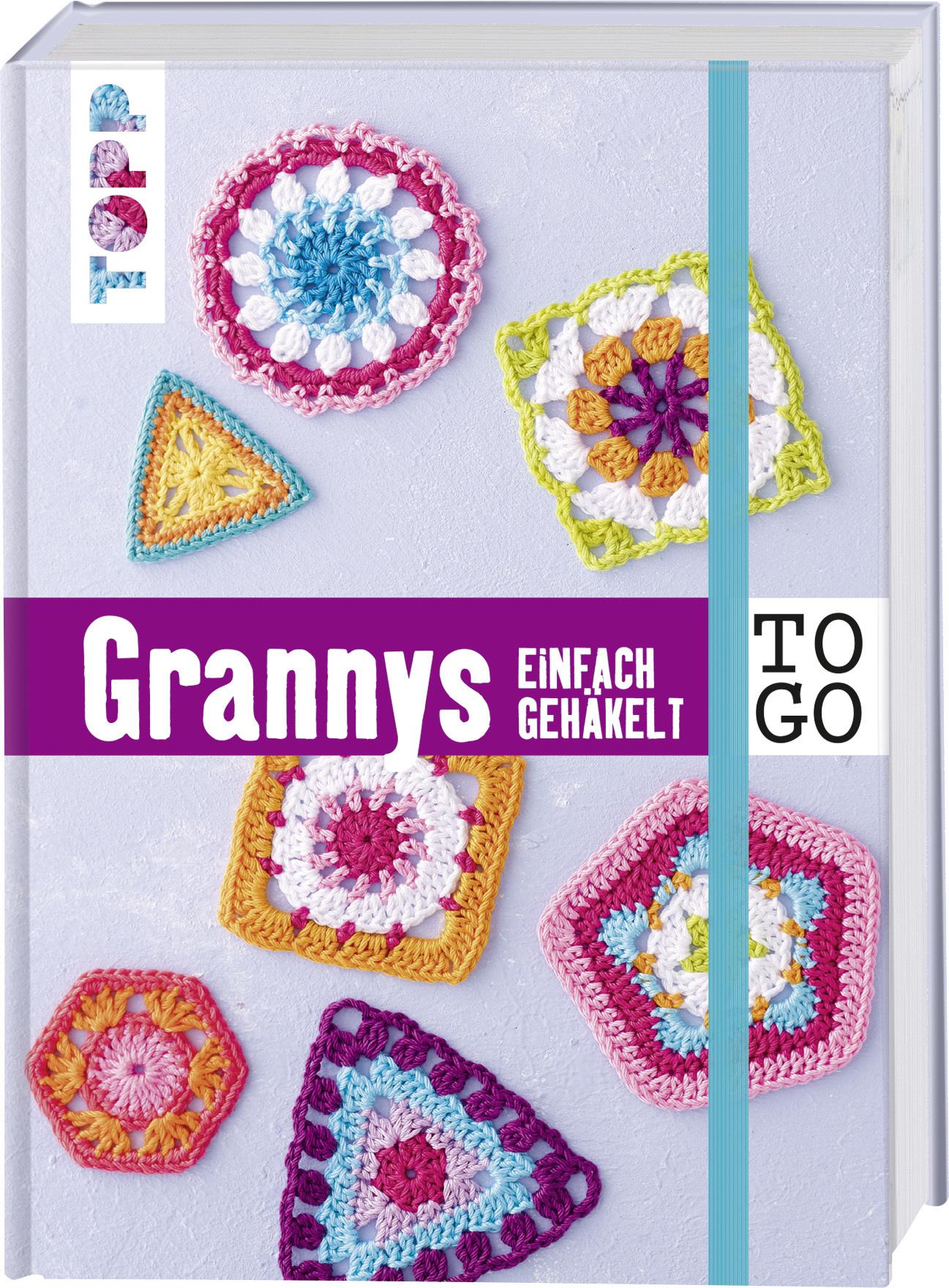 Häkeln To Go Granny Squares Häkeln Topp Kreativde