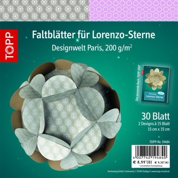Faltblätter für Lorenzo-Sterne, Paris