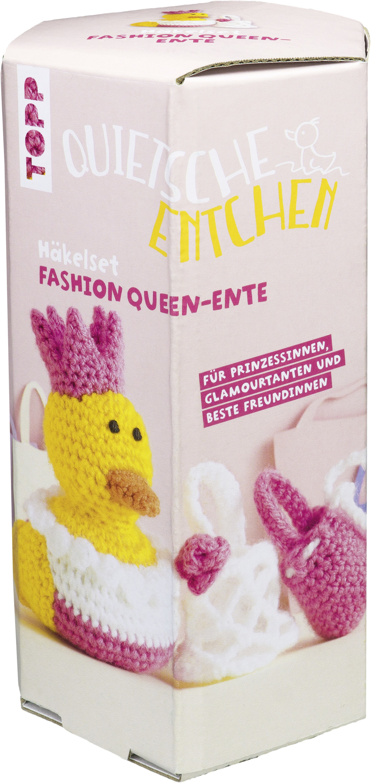 Quietsche Entchen Häkelset Fashion Queen Geschenke Unter 10