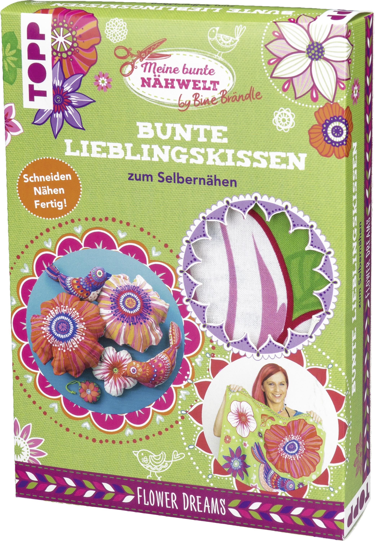 Bine Brändle Bunte Lieblingskissen Zum Selbernähen Flower Dreams