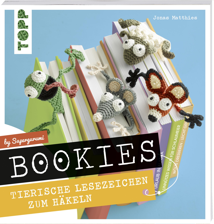 Bookies Tierische Lesezeichen Zum Häkeln By Supergurumi Buch Von