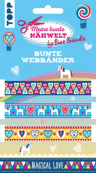 Bine Brändle Bunte Webbänder Magical Love