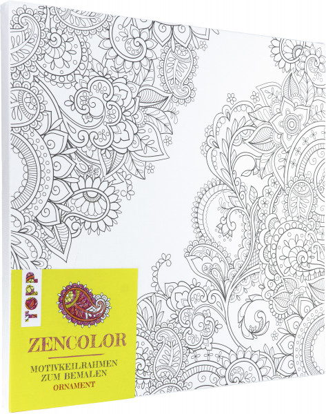 Zencolor Motivkeilrahmen Ornament