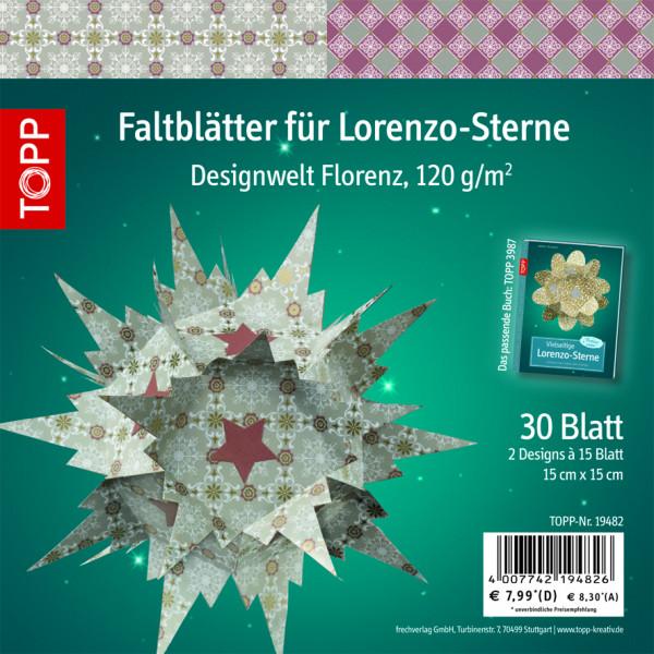 Faltblätter für Lorenzo-Sterne, Florenz