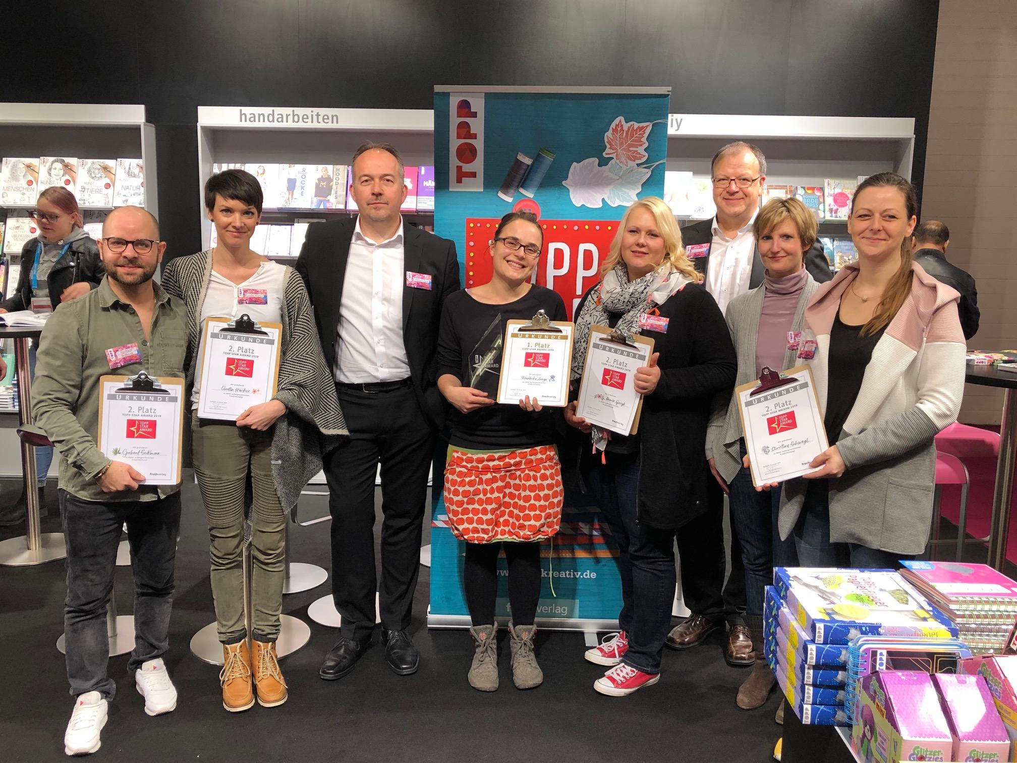 TOPP Star Award 2019 - die Finalisten und das Fachjury