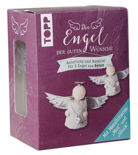Die Engel der guten Wünsche Materialset Betonengel