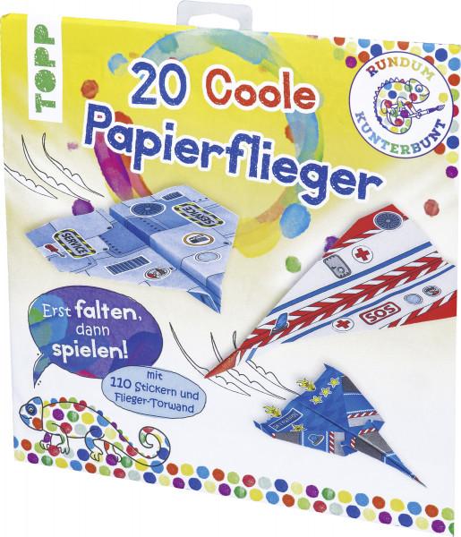 Rundum Kunterbunt Papierflieger-Set