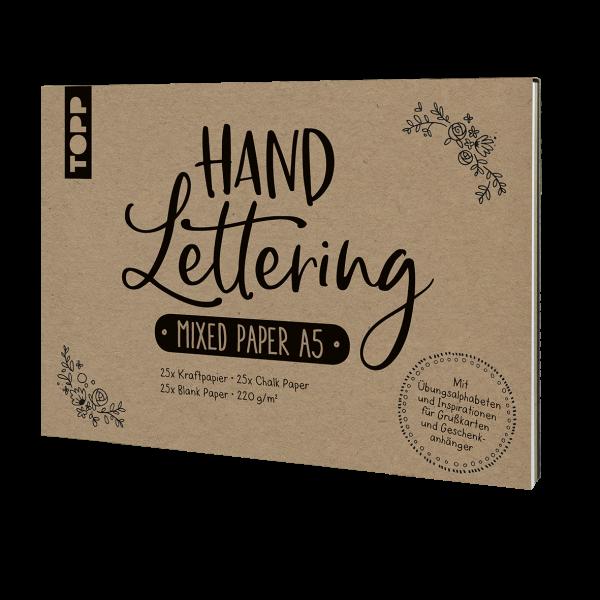 Handlettering Mixed Paper-Papierblock A5