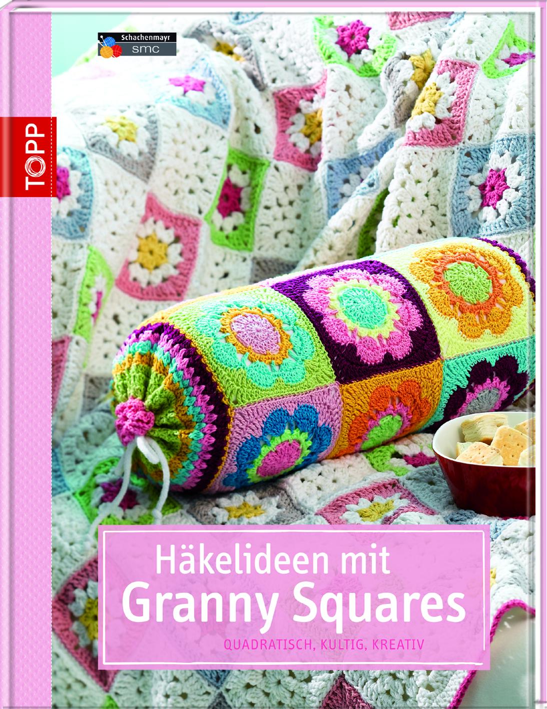 Häkelideen Mit Granny Squares Häkeln Topp Kreativde