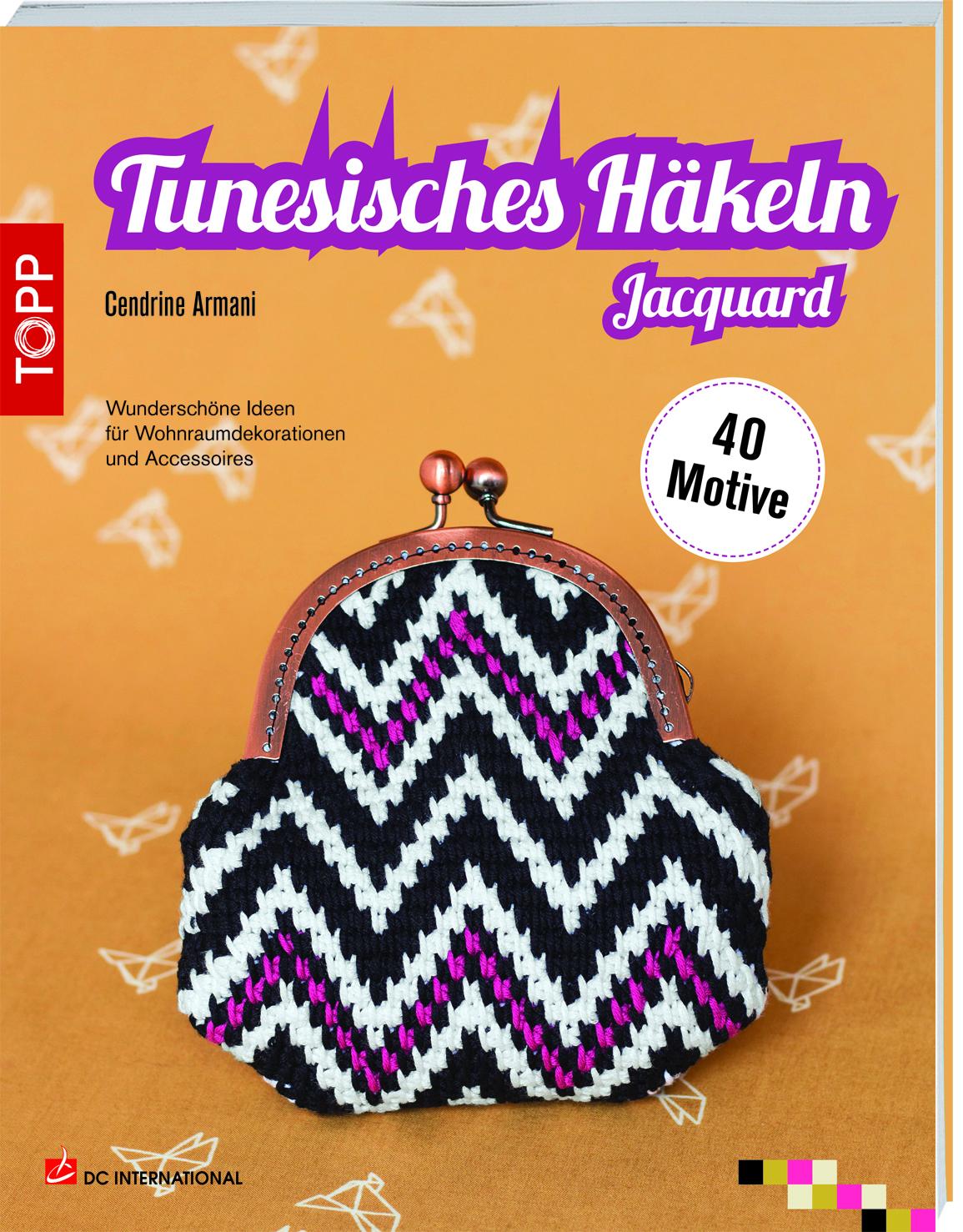 Tunesisches Häkeln Jacquard Häkeln Topp Kreativde