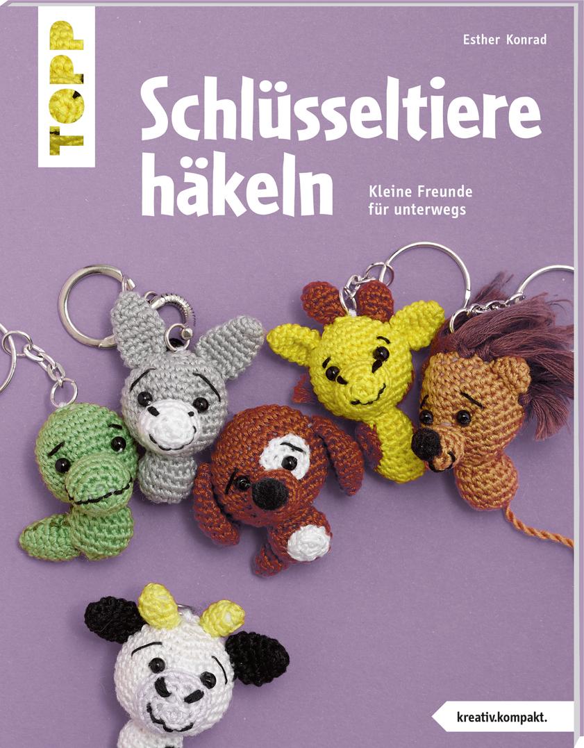 Schlüsseltiere Häkeln Buch Von Esther Konrad Topp