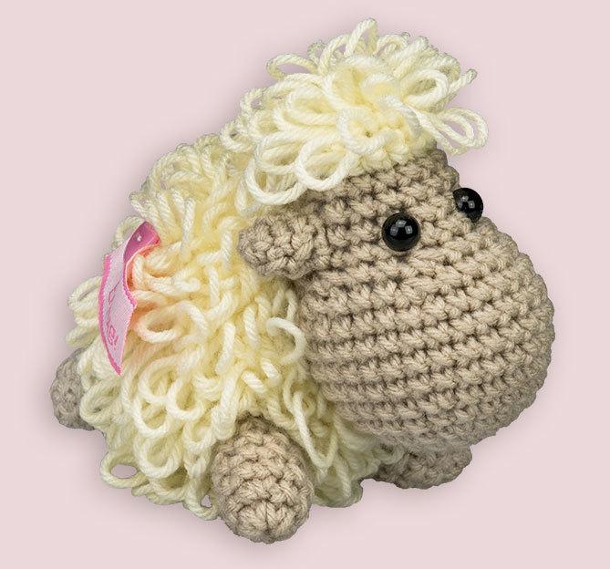 Wollowbies Schantall Schaf Gehäkelt Prämien Topp Kreativde