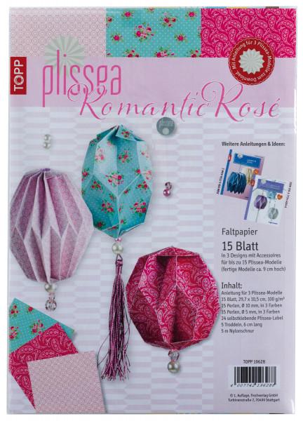 Plissea Faltpapier Romantic Rosé