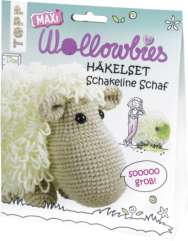 Maxi Wollowbies Häkelset Schaf Anleitung Material Von Topp
