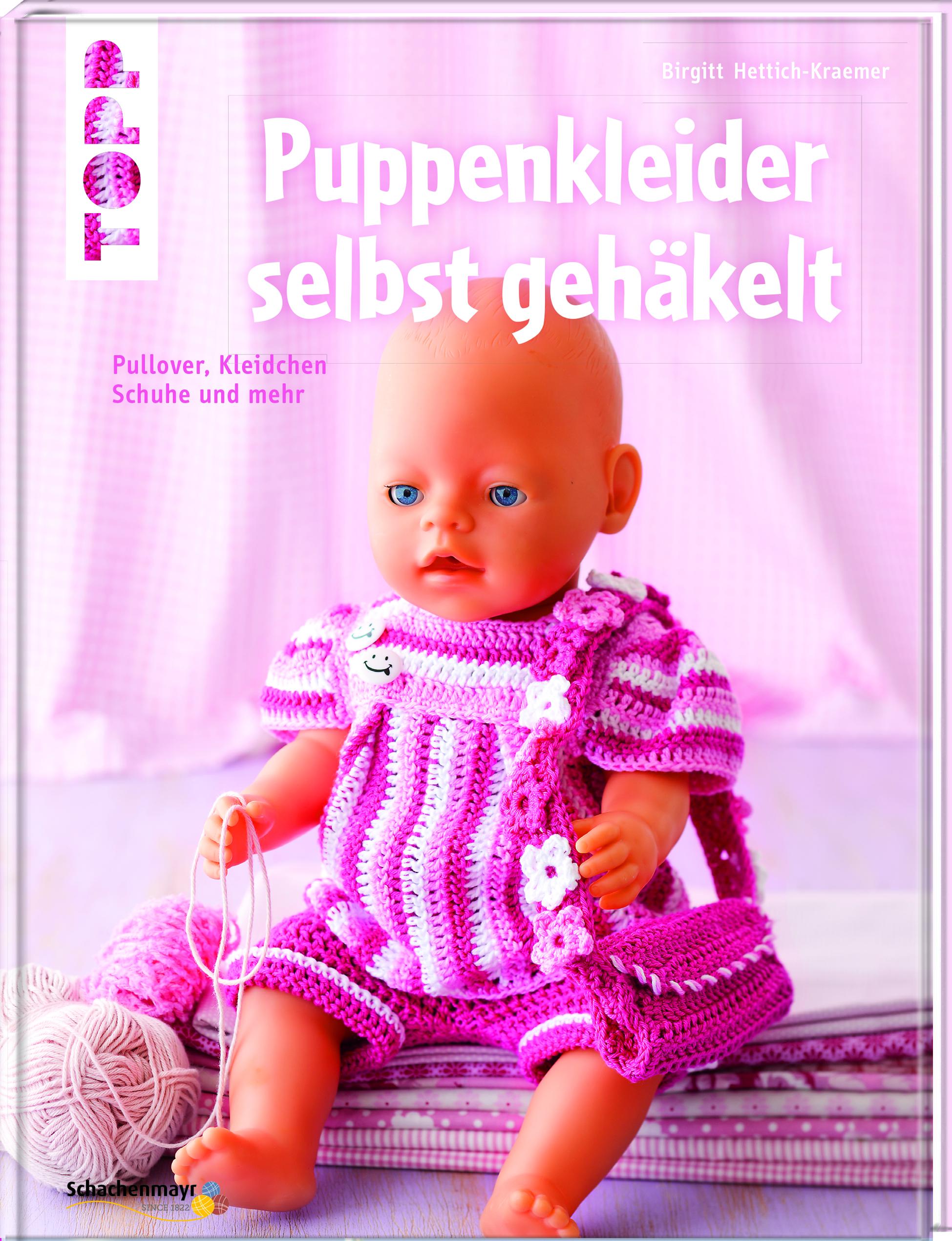 Puppenkleider Selbst Gehäkelt Häkeln Topp Kreativde