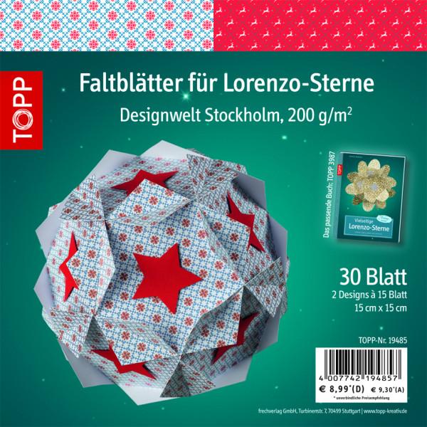 Faltblätter für Lorenzo-Sterne, Stockholm