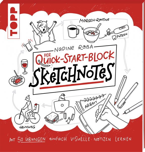 Sketchnotes. Der Quick-Start-Block