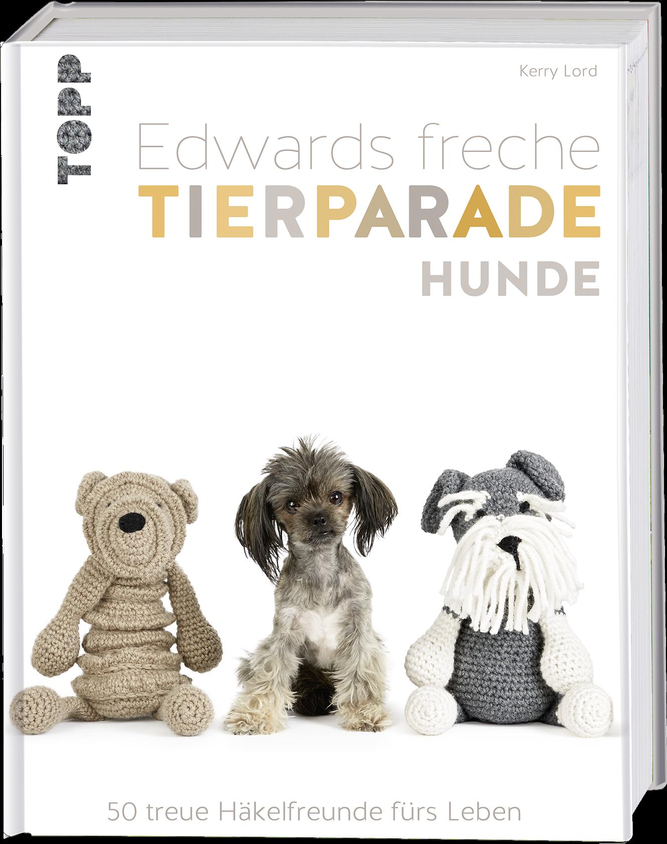 Edwards Freche Tierparade Hunde Häkeln Topp Kreativde