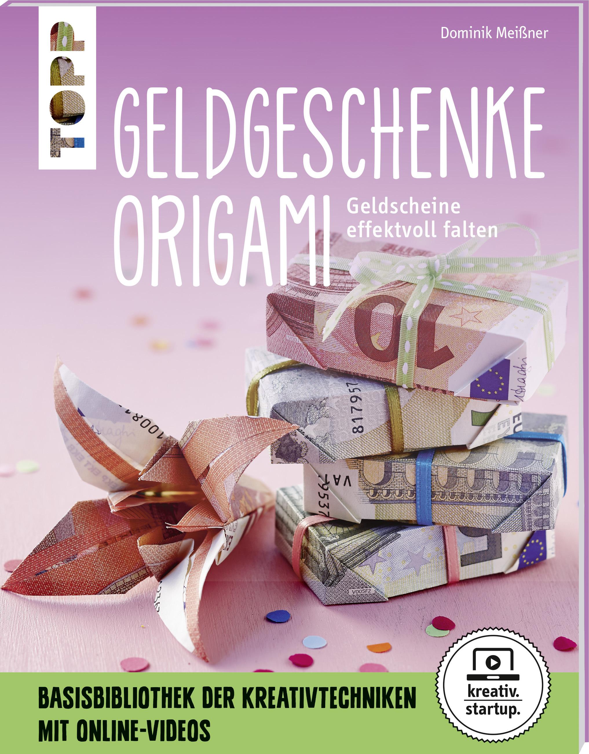Geldgeschenke Origami Kreativ Startup Origami Papierfalten