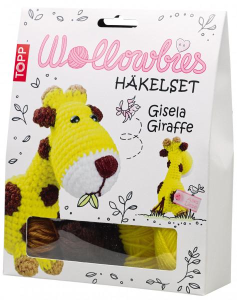 Wollowbies Häkelset Gisela Giraffe